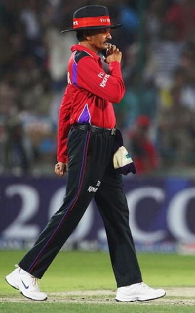 Umpire Sanjay Hazare