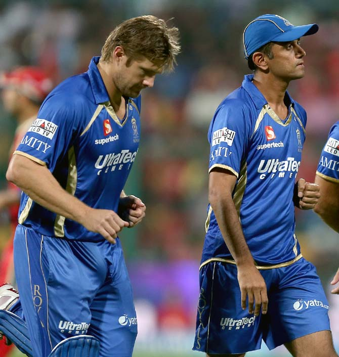 Extremely lucky to have Dravid around: Watson