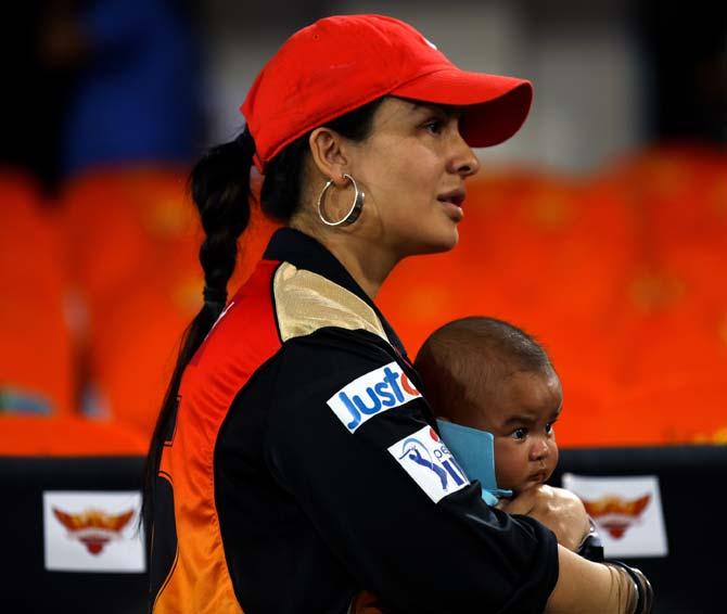 PHOTOS: Dhawan Jr. in attendance but Sunrisers lose to Mumbai