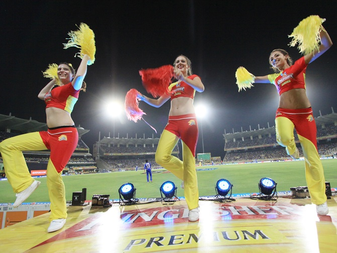 CSK cheergirls