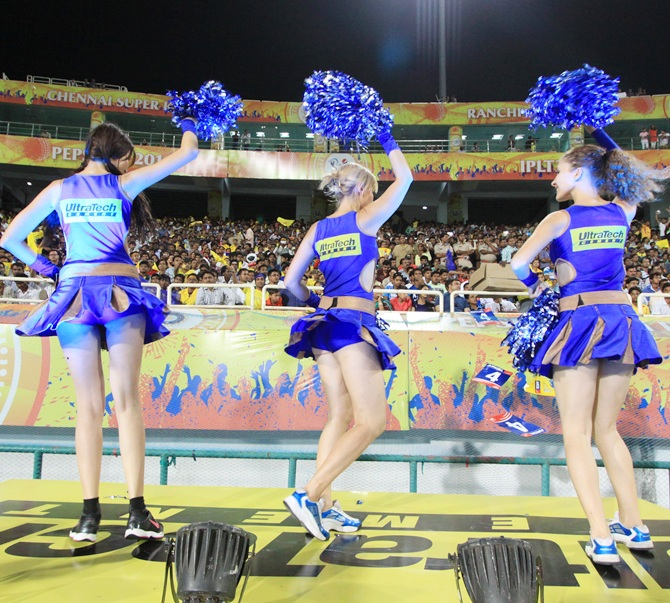 Rajasthan Royals cheergirls