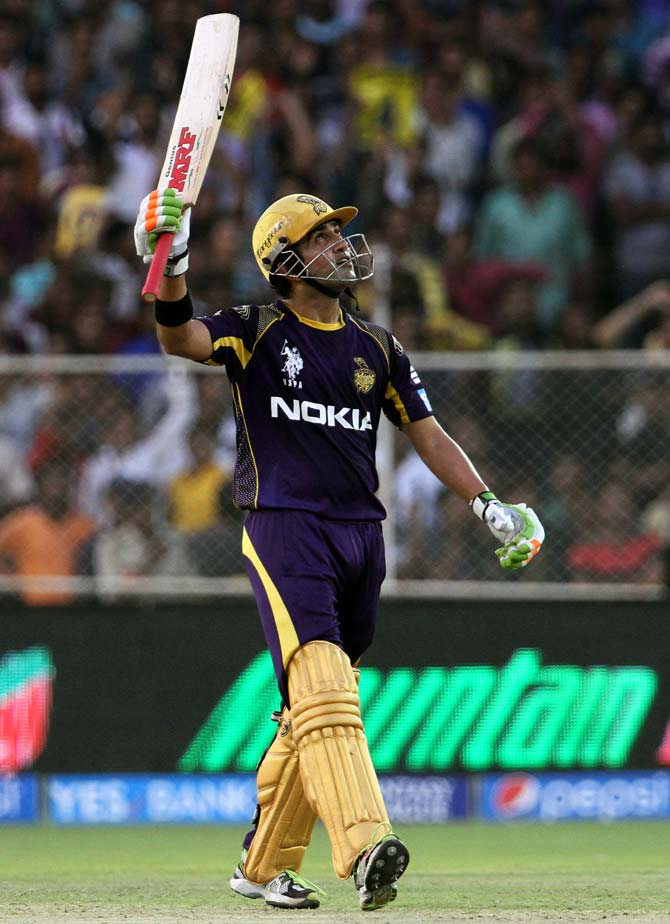 Focus is on IPL, not thinking about World Cup, says Gambhir