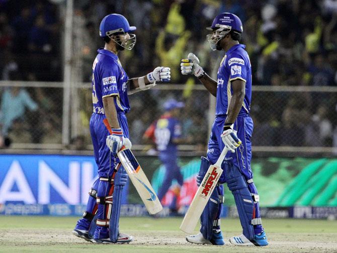 Ajinkya Rahane and Sanju Samson