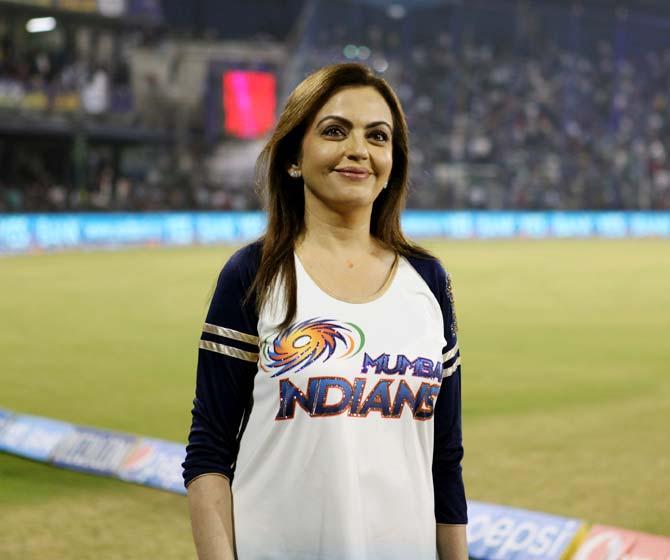 Mumbai Indians owner Nita Ambani.