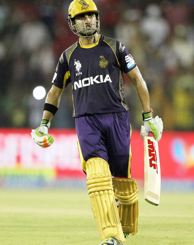 IPL Extras: Wouldn't have reacted if I had nicked that delivery, says Gambhir