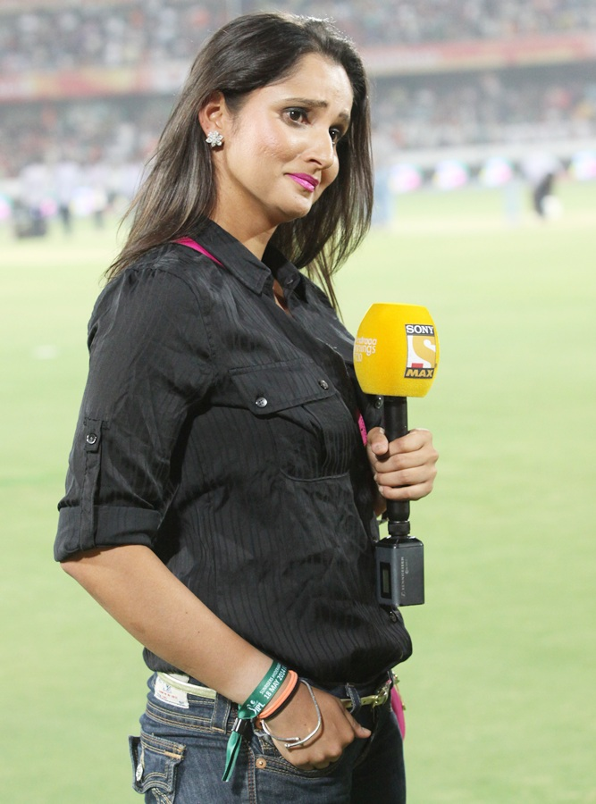 IPL PHOTOS: The many moods of sensational Sania Mirza