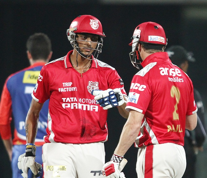 Akshar Patel with George Bailey