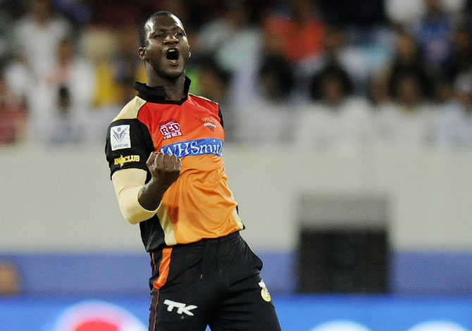 Sunrisers Hyderabad captain Darren Sammy