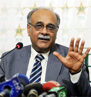 PCB chief Nazam Sethi
