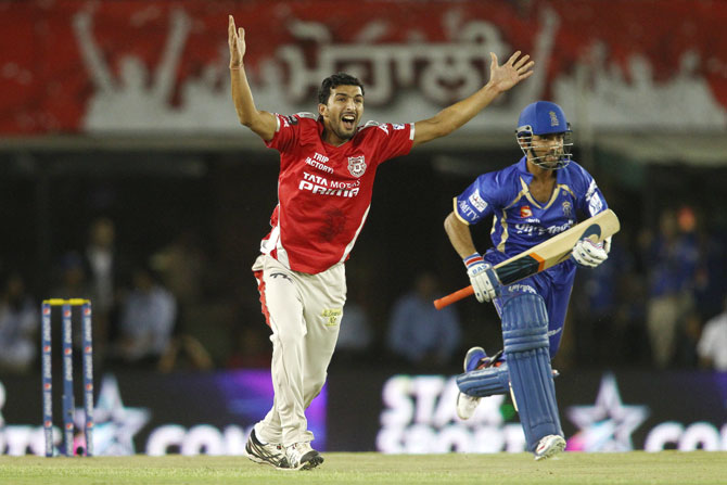 Rishi Dhawan of Kings XI Punjab