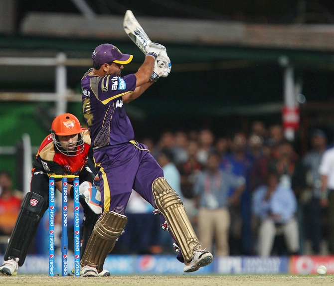Yusuf Pathan in action