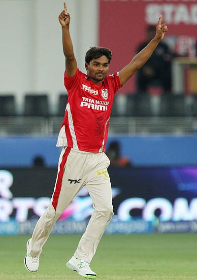 Kings XI Punjab's Sandeep Sharma