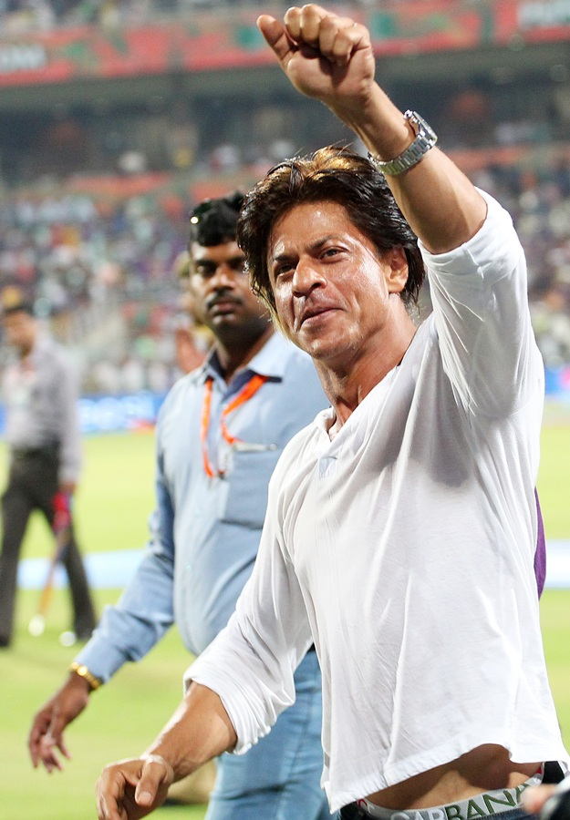 Shah Rukh Khan also has a stake in the Indian Premier League side Kolkata Knight Riders