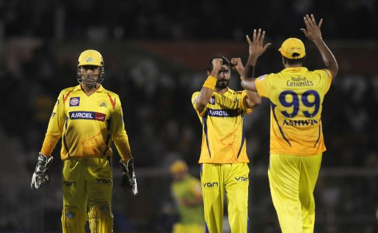 Dhoni praises bowlers, fielders after win over MI