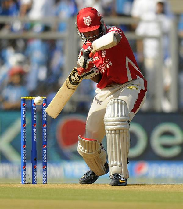 Cheteshwar Pujara in Kings XI Punjab colours