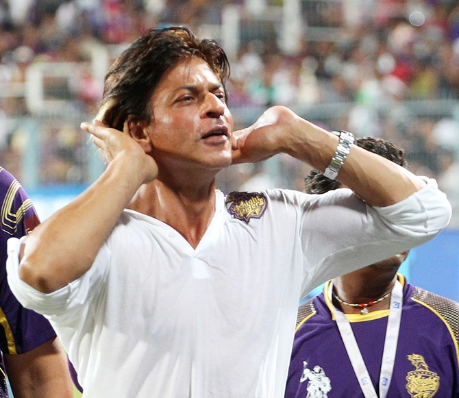 Shah Rukh Khan wants more noise from the fans.