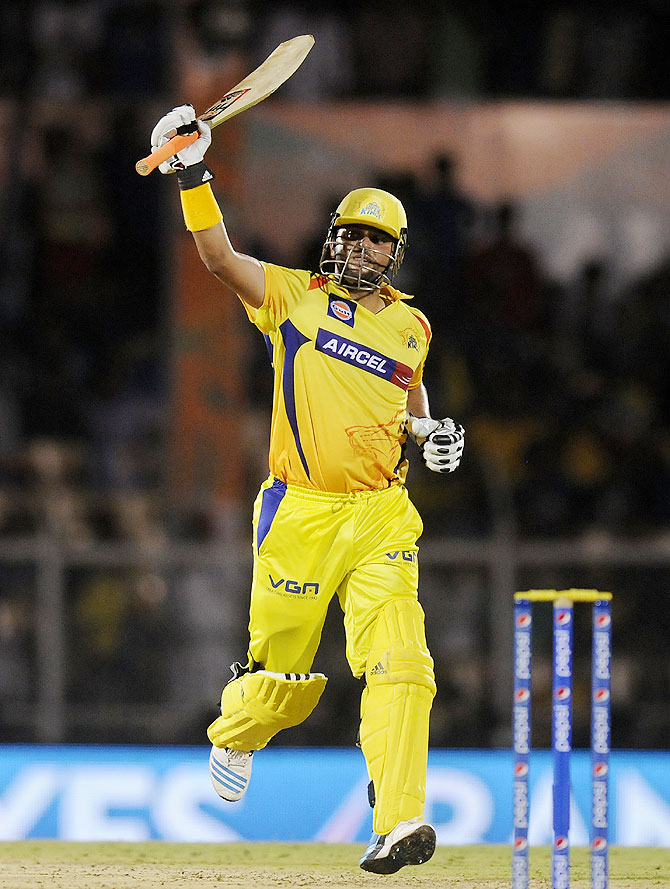 Stats: Raina is Chennai's record man!