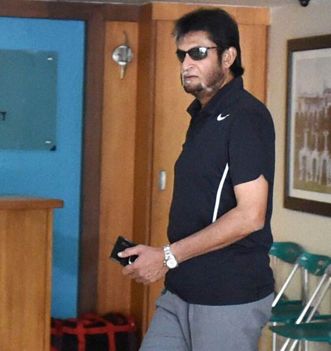 Sandeep Patil, currently the chairman of the selectors, who chose the Indian team for the World T20 championship. Photograph: PTI