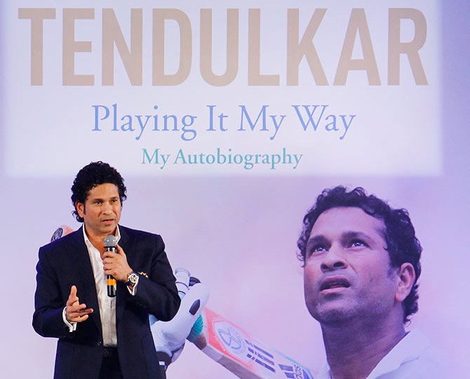 Tendulkar's autobiography breaks World record; goes past Dan Brown, JK Rowling