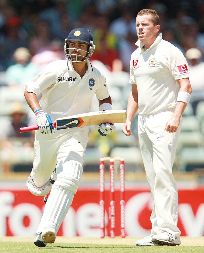 Rediff Cricket - Indian cricket - Aus paceman Siddle targets Kohli as mind games begin