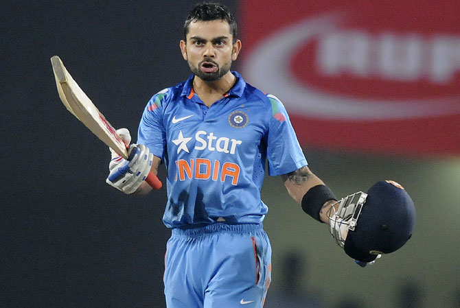 Rediff Cricket - Indian cricket - Numbers game: Who has the highest WorldT20 average? Kohli or KP?