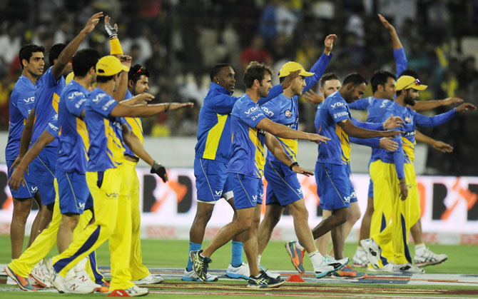 CLT20: Chennai Super Kings take on Knight Riders in all-IPL final