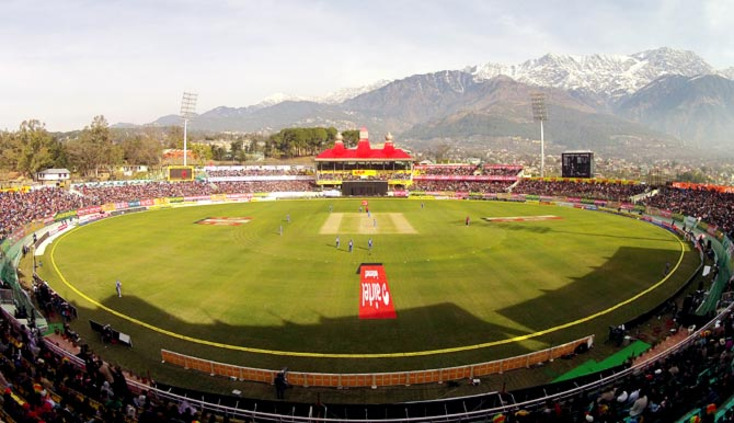 Cricket fans in Dharamsala prefer IPL to ODIs?