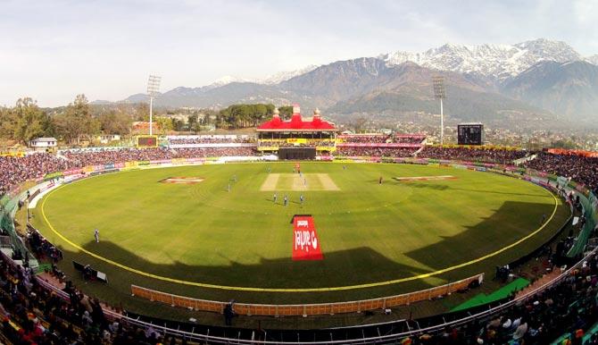Cricket fans in Dharamsala prefer IPL to ODIs?