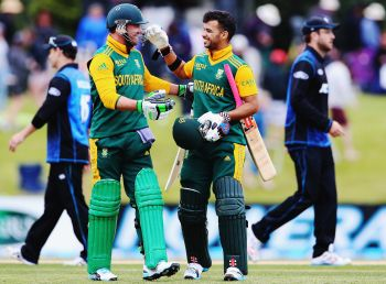 Rediff Cricket - Indian cricket - De Villiers anchors South Africa to easy win over New Zealand