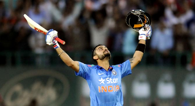 Rediff Cricket - Indian cricket - Kohli to lead for Sri Lanka ODIs; Saha, Ashwin make comeback