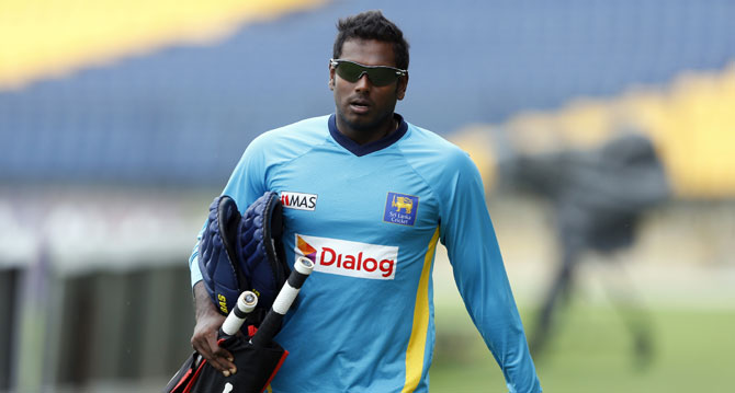 Rediff Cricket - Indian cricket - Fit-again Mathews to lead Lanka in Champions Trophy, Malinga back too