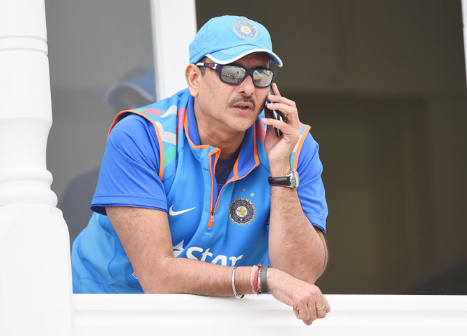 Rediff Cricket - Indian cricket - 18 months with Team India most memorable of my life: Shastri