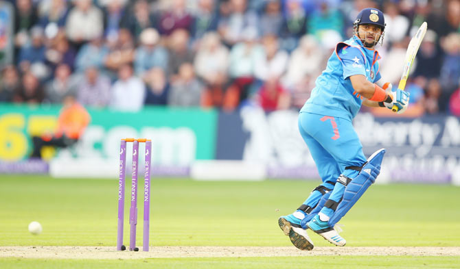 Rediff Cricket - Indian cricket - Technique tweak revives Raina's fortunes