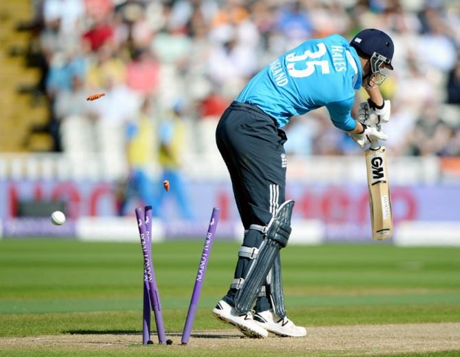 England opening batsman Alex Hales