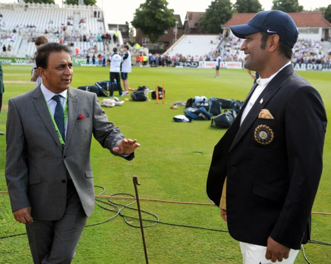 Dhoni more comfortable in shorter formats: Gavaskar
