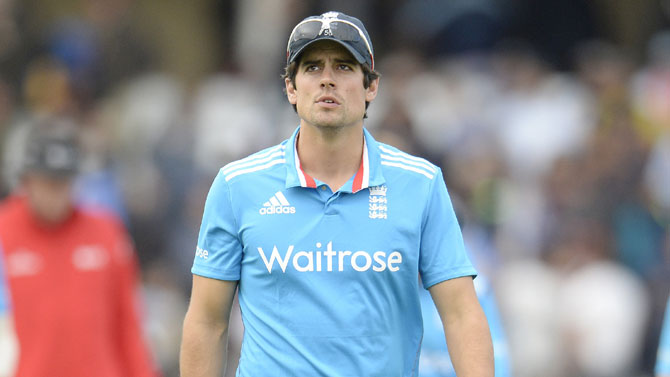 Rediff Cricket - Indian cricket - 'Cook is a stubborn man but the tough call has to be made'