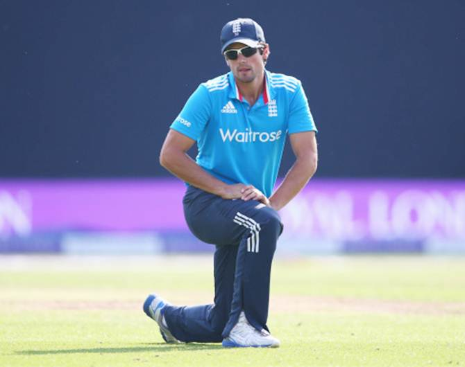 Rediff Cricket - Indian cricket - Strauss backs captain Cook to come good