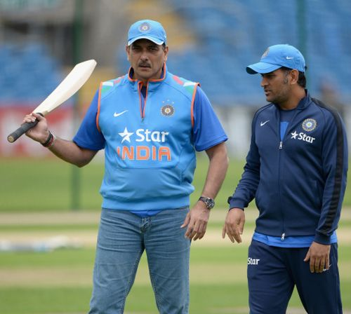 Rediff Cricket - Indian cricket - How Ravi Shastri helped Rahane get his maiden century