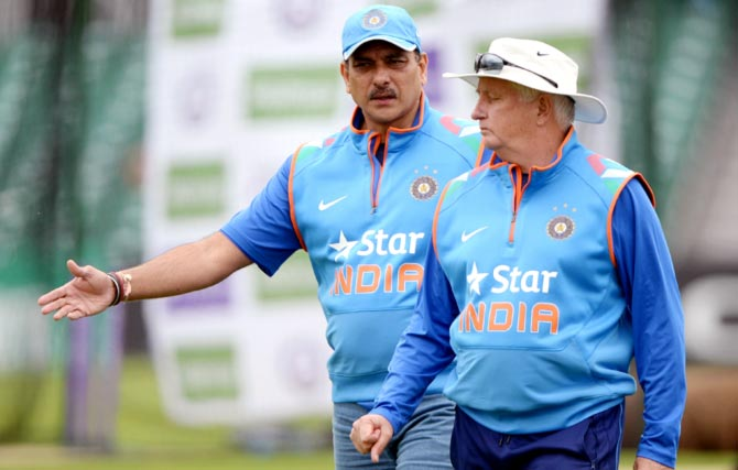Shastri's England report could decide coach Fletcher's fate