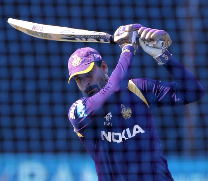 Rediff Cricket - Indian cricket - KKR players get intense training in SA in preparation for CLT20