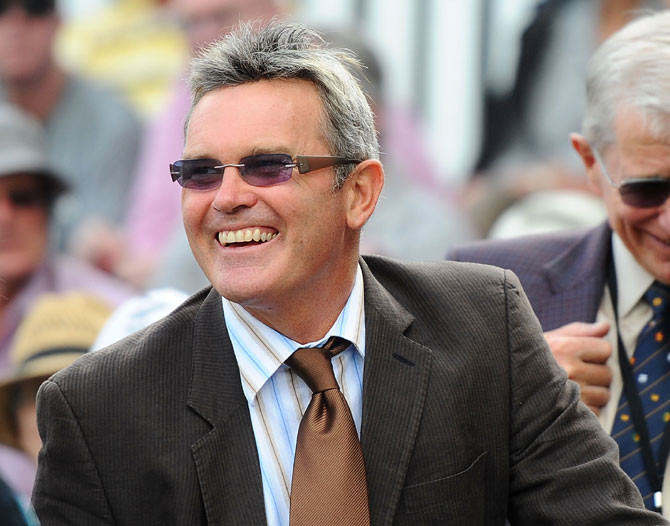Former New Zealand captain Martin Crowe