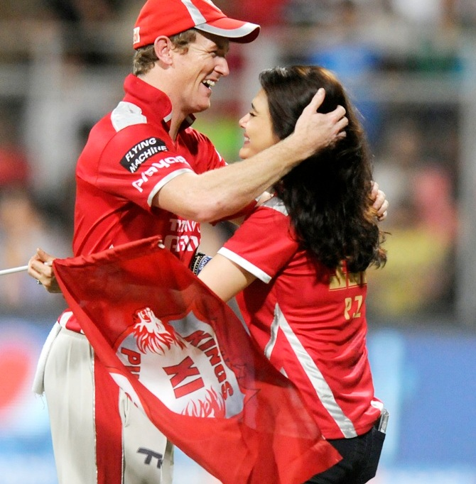 Rediff Cricket - Indian cricket - Will Kings XI Punjab's power-packed batting tame Hurricanes?
