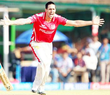 Rediff Cricket - Indian cricket - Injury rules Johnson out of Kings XI's initial CLT20 matches