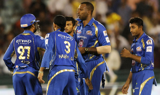 Rediff Sports - Cricket, Indian hockey, Tennis, Football, Chess, Golf - 'In Champions League T20, most teams want to beat Mumbai Indians'