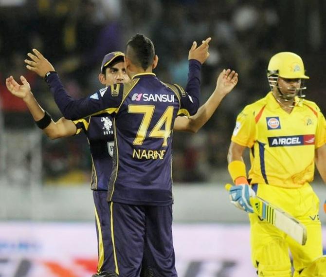 Rediff Cricket - Indian cricket - Russell, Ten Doeschate played unbelievable knocks, says Gambhir