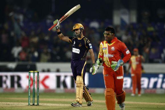 Rediff Sports - Cricket, Indian hockey, Tennis, Football, Chess, Golf - Gambhir, Narine guide Kolkata to easy win over Lahore