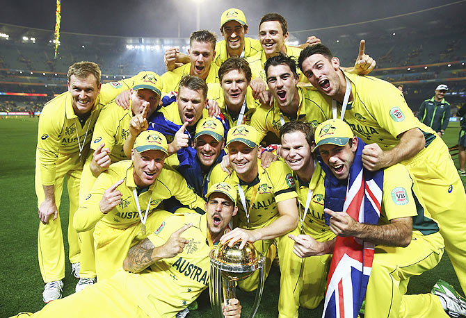Ashes loss only blip in an otherwise perfect year for World Cup winners Australia