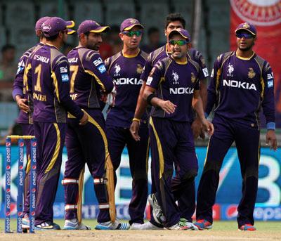 IPL 8 Squads: Kolkata Knight Riders