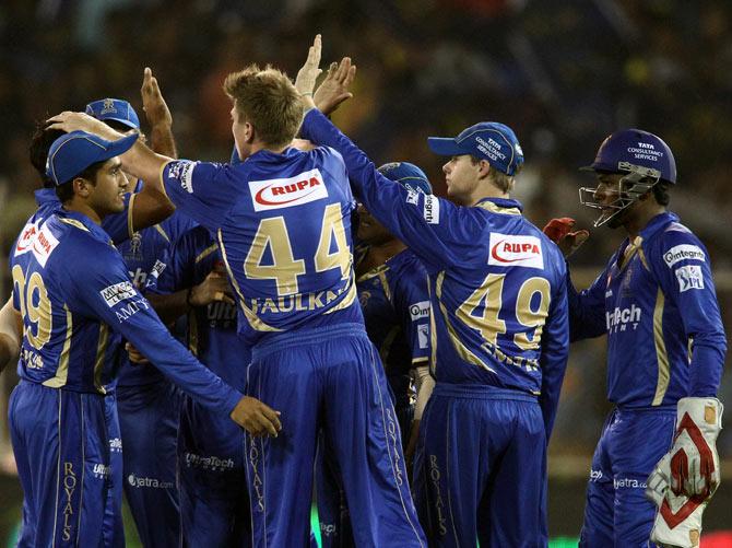 IPL 8 Squads: Rajasthan Royals