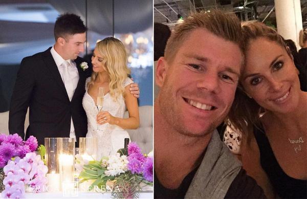 Australian Wedding Gifts For Overseas: Wedding Bells For Australian Cricketers Marsh And Warner